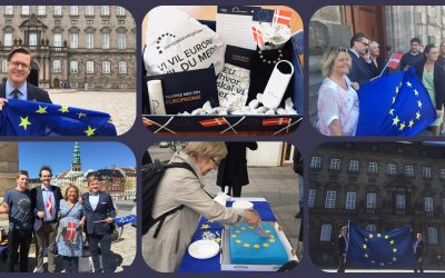 Det europæiske flag vender tilbage til Folketinget