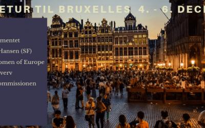 Studietur til Bruxelles 4.– 6. december 2019