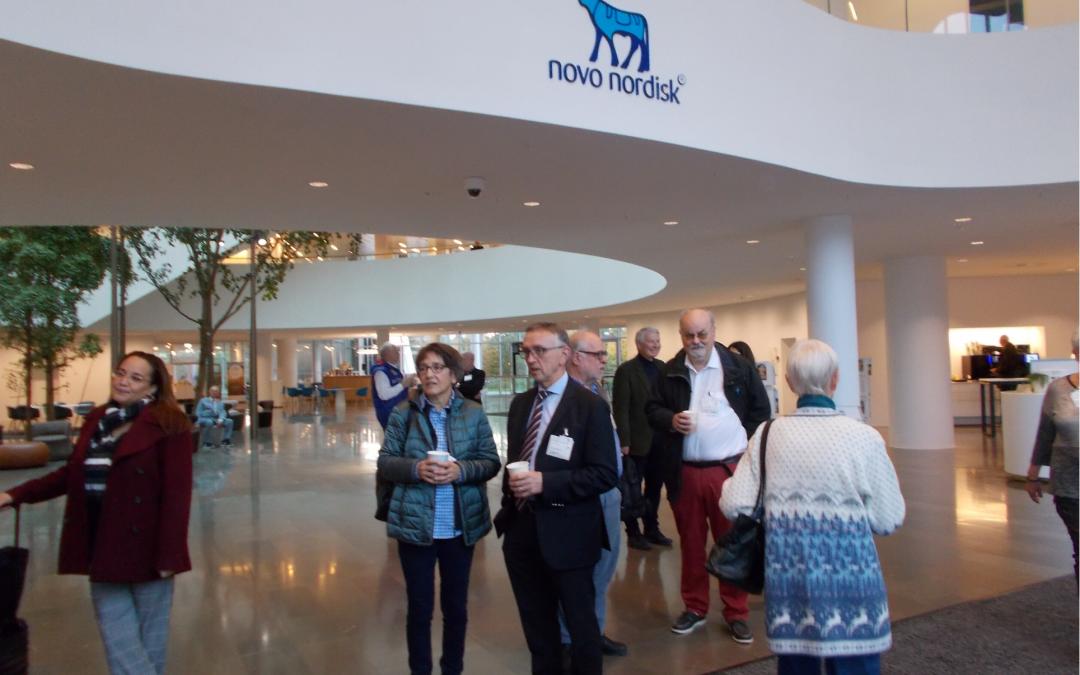 Besøg hos Novo Nordisk A/S – EU set fra et virksomhedsperspektiv