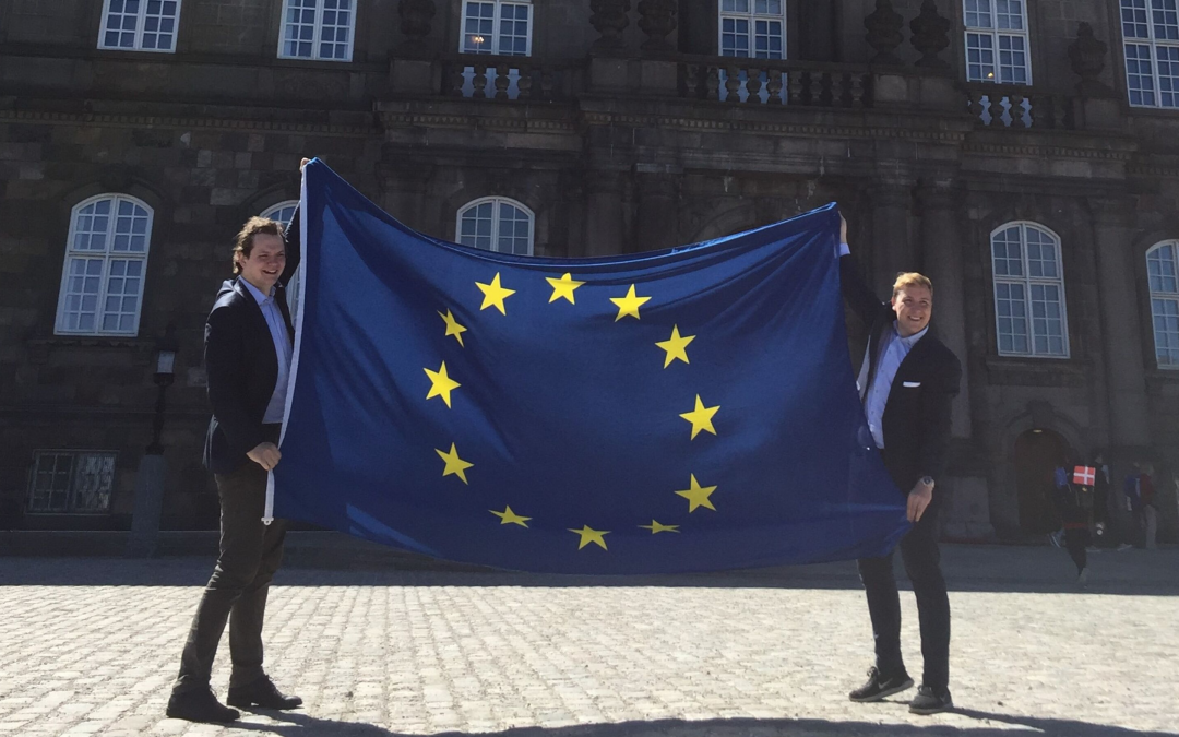 Europabevægelsen vil have EU-flaget op hver dag