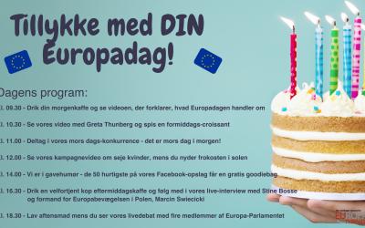 Fejr Europadagen med os lørdag 9. maj!