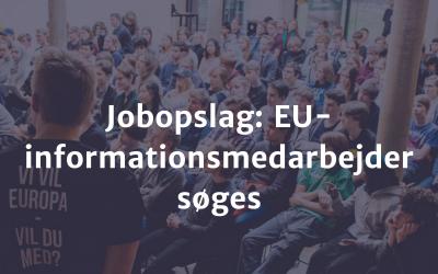 EU-informationsmedarbejder søges