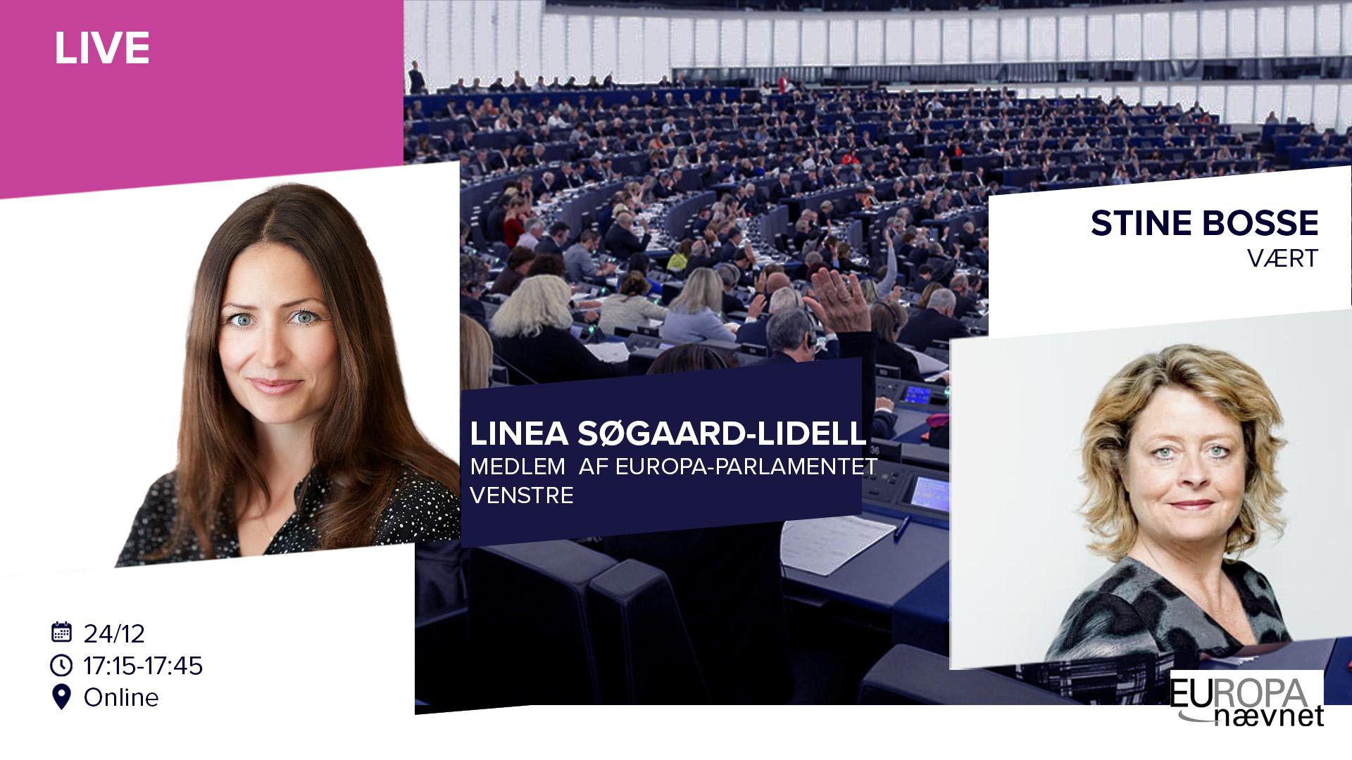 LIVE: Stine Bosse (Europabevægelsen) & Linea Søgaard-Lidell (MEP-Venstre)