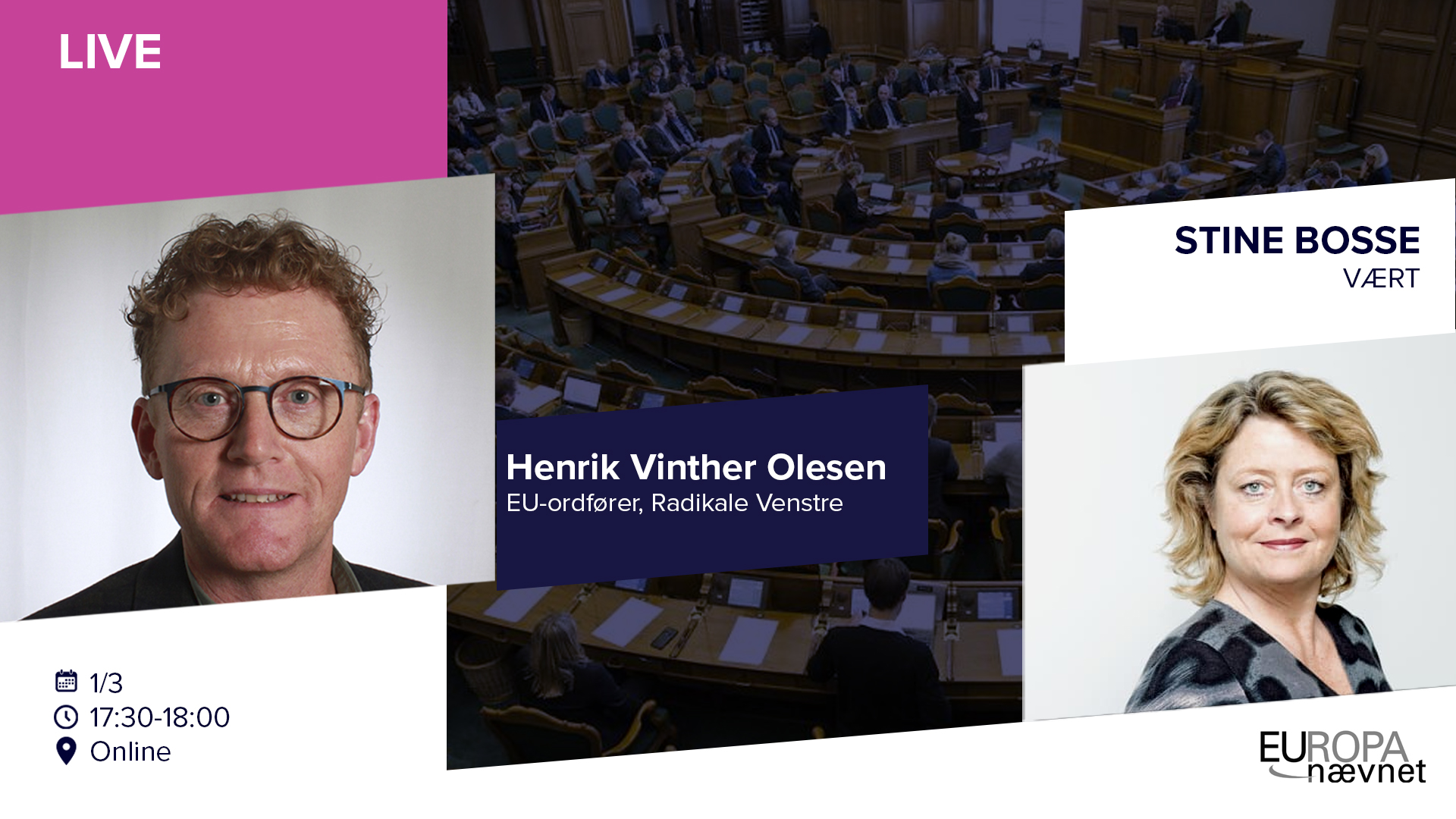 LIVE: STINE BOSSE OG HENRIK VINTHER OLESEN (RV)