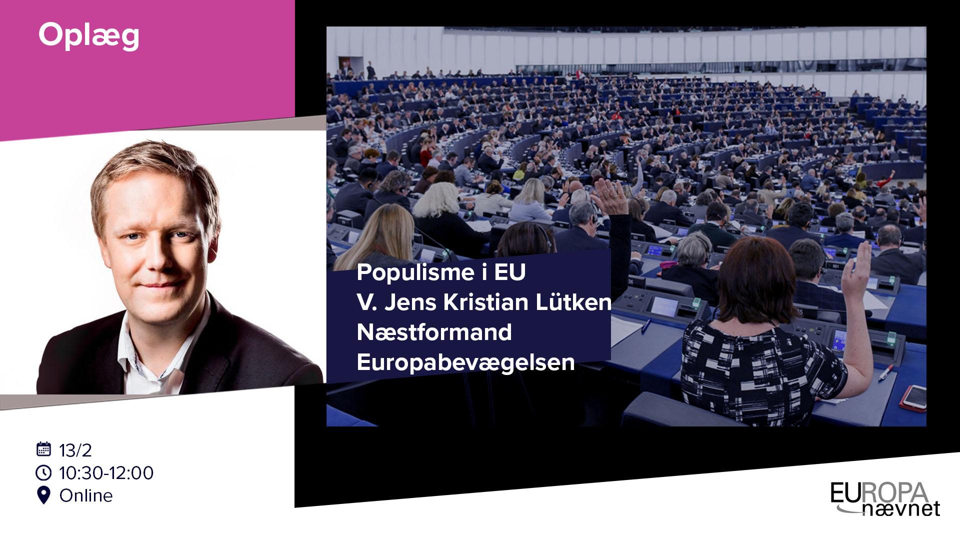 Oplæg: EU-modstand og populisme