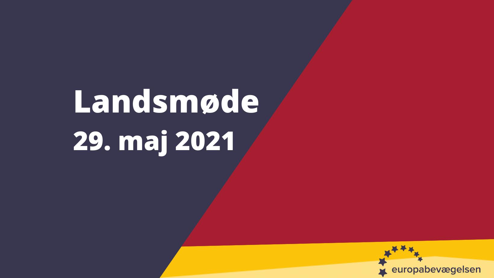Online Landsmøde 2021: Kun for medlemmer