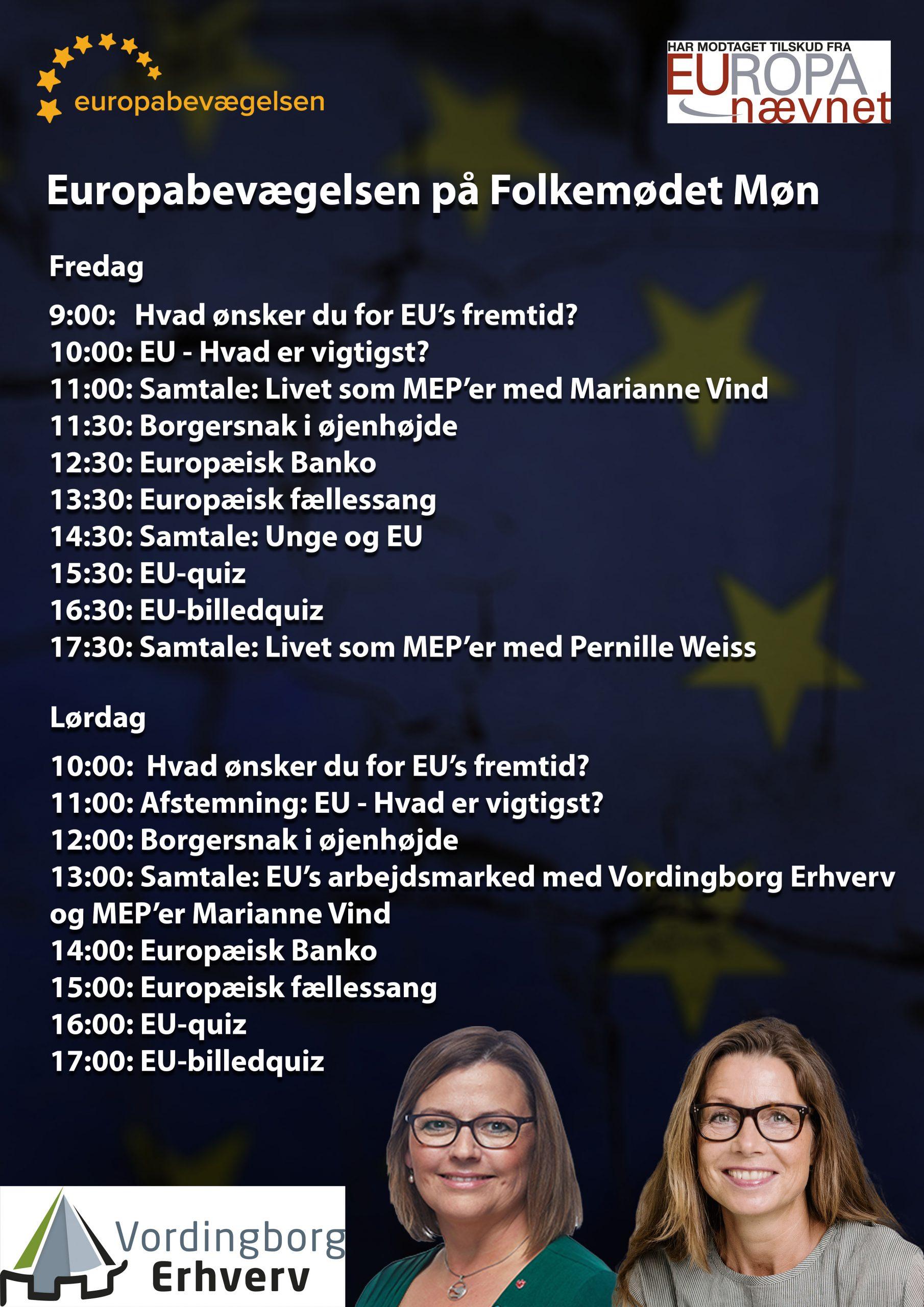 Europabevægelsen på Folkemødet Møn